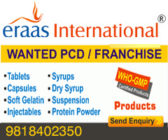 Top PCD Pharma company in Delhi Eraas International