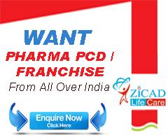 Pharma PCD company ahmedabad gujarat zicad lifecare